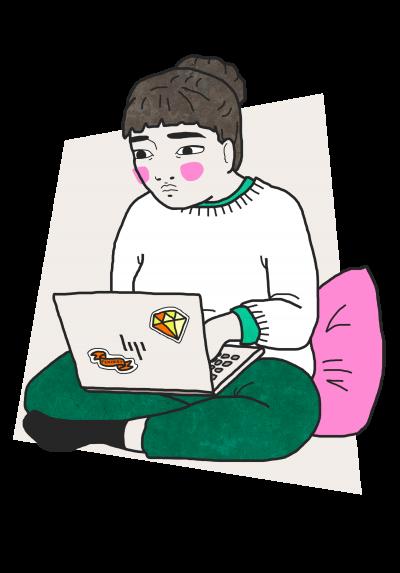 Laptop - beige